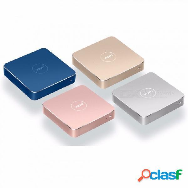 Voyo mini pc vmac v1 n3450 windows 10 pocket pc intel lac apollo cpu 4k hd, windows 10.1 wifi, hdmi color aleatorio