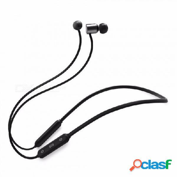 Tz19 auricular inalámbrico magnético del bluetooth del gancho del cuello ligero, auriculares en la oreja para los deportes que se ejecutan ejercicio rojo