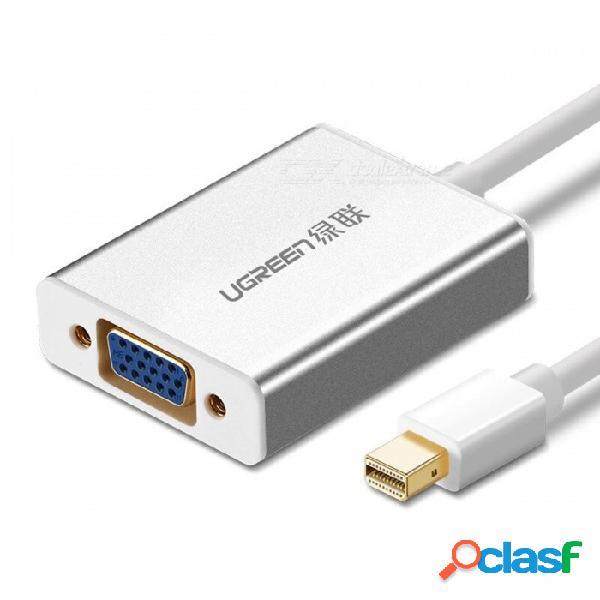 Ugreen thunderbolt mini displayport dp macho a vga cable convertidor hembra adaptador para apple macbook air pro 15cm / con audio