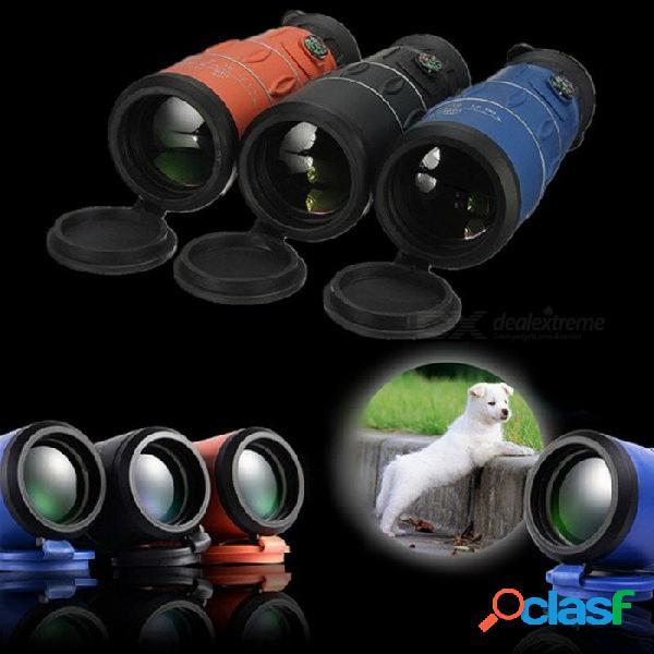 High times 26x52 hd multi-revestido gran angular monocular binocular ocular w / visión nocturna para caza al aire libre negro