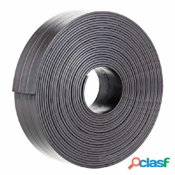 Imán de goma de la cinta de la tira magnética flexible echada a un lado de diy para la escuela del amp de la oficina