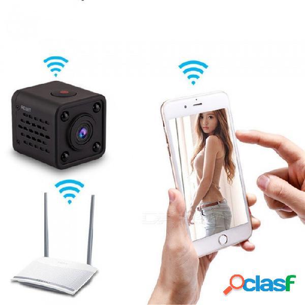 Wifi ip mini cámara cámara infrarroja inalámbrica cámara de visión nocturna detección de movimiento mini dv grabadora de video por voz 1080p cámara hd