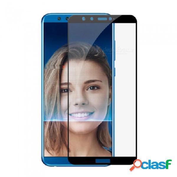Protector de cristal templado de cobertura de pantalla completa naxtop 2.5d para huawei honor 9 lite
