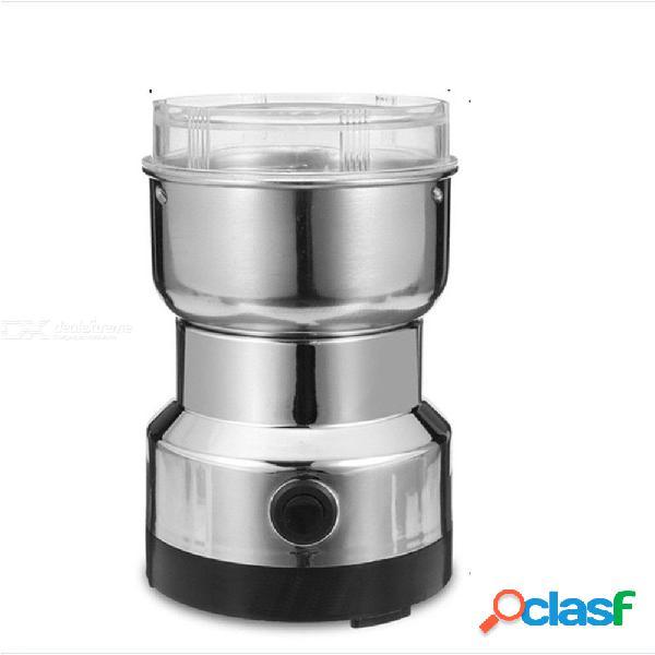 150w molinillo de café eléctrico pimienta especia nueces semillas grano de café medicinal moler máquina