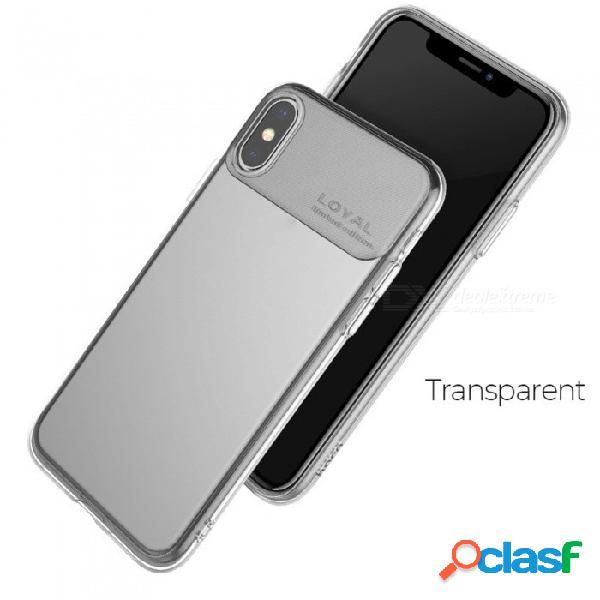 Hoco delgado, delgado, con cobertura completa, transparente, transparente, transparente tpu, funda protectora para iphone xs, xs plus, 9 clear /: iphone 9 6.1