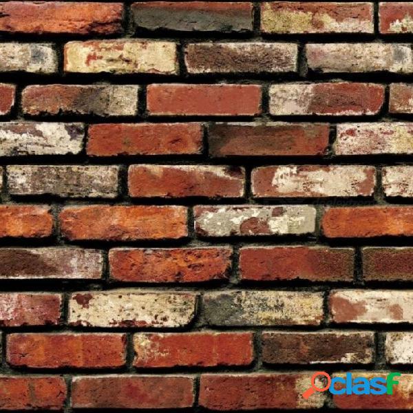 Papel pintado autoadhesivo de piedra antigüedades de piedra papel pintado de pared de ladrillo impermeable pegatinas de pared decorativas a