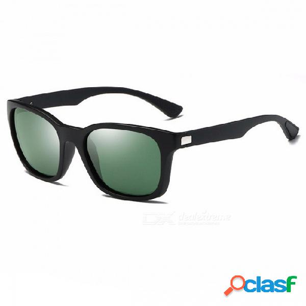 Gafas de sol de hombre polarizadas gafas de sol cuadradas retro accesorios gafas de conducción unisex, de moda y único
