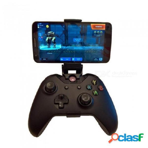 Soporte de montaje en el teléfono soporte para xbox one s / slim unos controlador para steelseries gamepad nimbo iphone x samsung s9 s8 soporte de clip negro