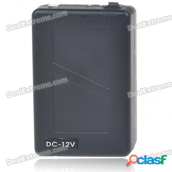 Batería de ion de litio recargable portátil de emergencia 1800mah para dispositivos cctv (dc 12.6 ~ 10.8v)