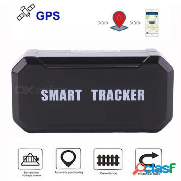 Lm003 perseguidor gps del coche 10000 mah batería de reserva dispositivo de seguimiento del vehículo de 120 días gsm localizador imán impermeable imán web gratuito monitor