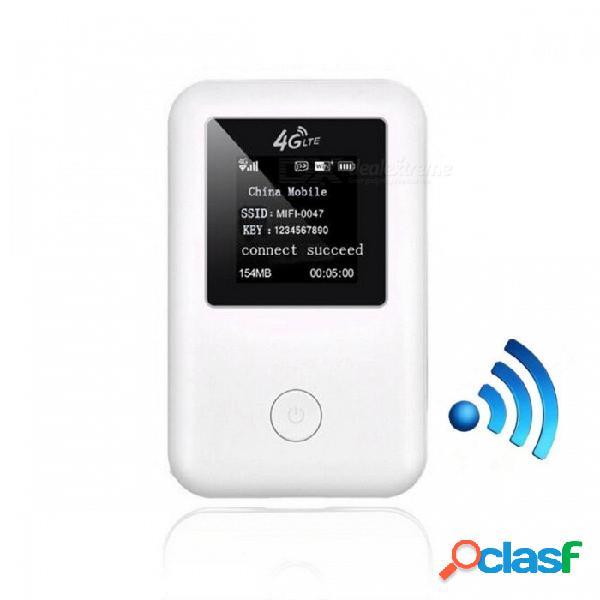 Tianjie 150mbps 4g wifi enrutador 3g 4g lte coche inalámbrico wifi móvil gato 4 punto de acceso desbloqueado módem con ranura para tarjeta sim