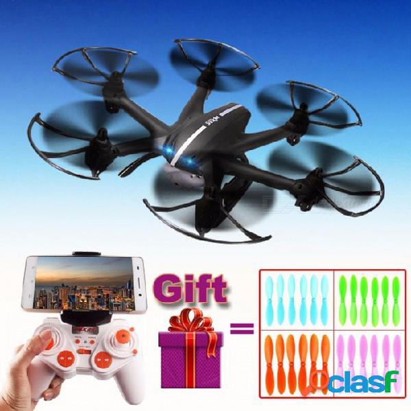 2.4g 4ch 6 ejes mjx x800 helicóptero rc quadcopter drone con c4015 hd fpv wifi cámara en tiempo real vs x400 x5c x5sw x5sc sin cámara negro