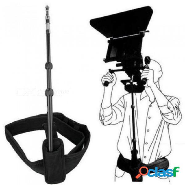 Accesorios portátiles universales del soporte del hombro de la correa de la barra de la barra de la barra de la ayuda de la plataforma de la aleación de aluminio dslr para la cámara videocáma