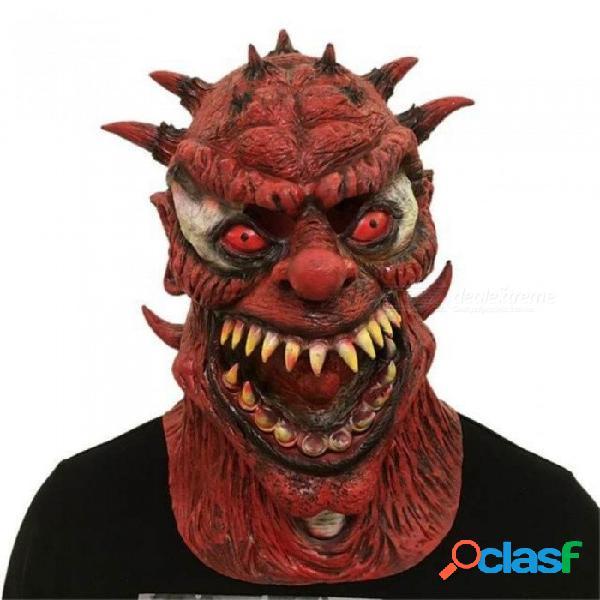 Máscaras de fiesta variación monstruo máscaras de halloween película de horror cosplay vestir festival de miedo apoyos de fiesta máscara de látex negro