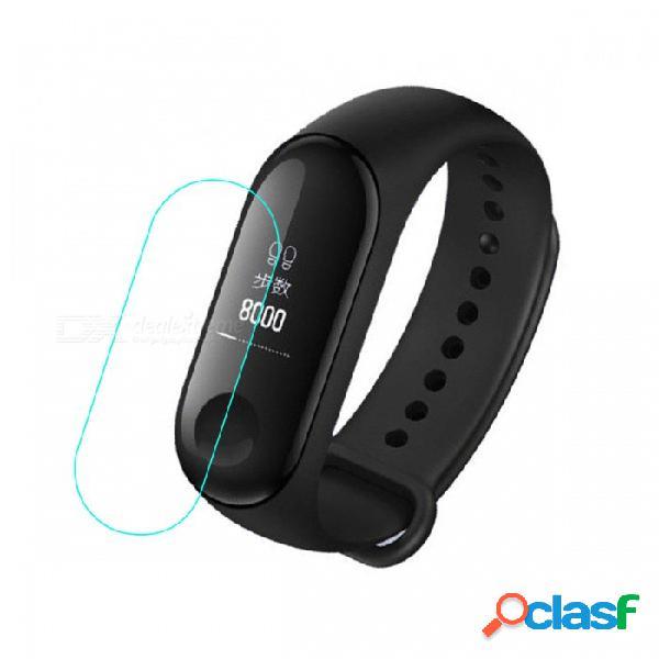 Película protectora de pantalla de tpu hd para xiaomi 3 millas banda 3 película para miband 3 pulsera inteligente pulsera