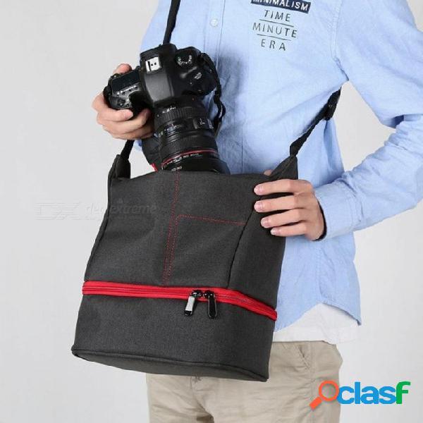 Cámara fotográfica cámara fotográfica slr bolsa impermeable bolsa de viaje bolsa bandolera cámara portátil estuche dslr foto mochila fotográfico rojo