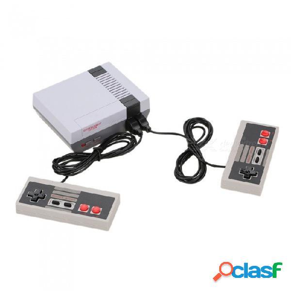 Consola de videojuegos recreativos familiares nes retro mini tv de mano con 500 juegos clásicos incorporados