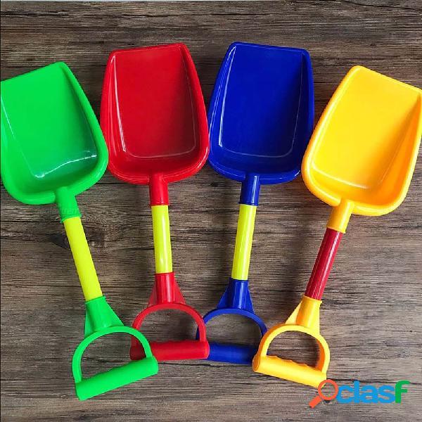 Juguetes plásticos de la pala de la playa de la arena de sandbeach para los niños al aire libre se divierten color al azar