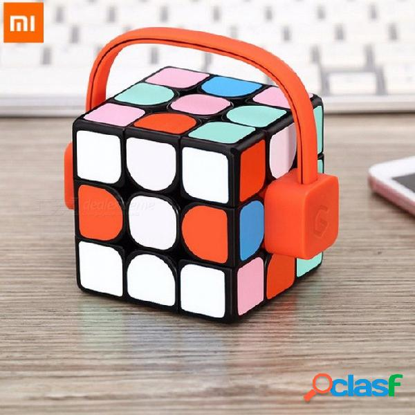 Nueva xiaomi mijia giiker súper inteligente aplicación de control remoto de control cubo mágico profesional rompecabezas coloridos juguetes educativos multi