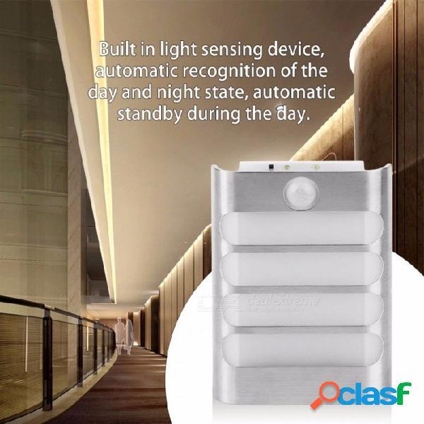 Sensor infrarrojo de inducción de infrarrojos ir detector de movimiento del cuerpo luces led lámpara de la batería luz nocturna para camino escaleras lámparas de pared
