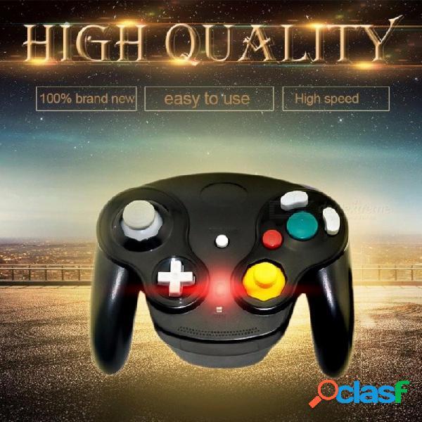 .4ghz controlador de bluetooth joystick gamepad inalámbrico para nintendo para gamecube para ngc para wii