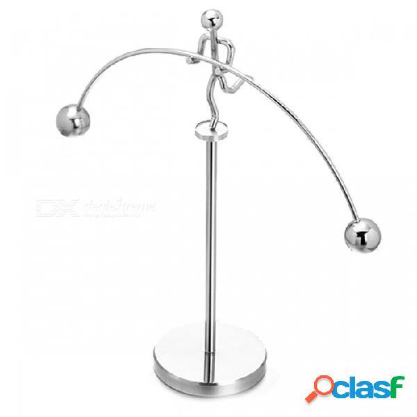 Vaso giratorio de pie pequeño modelo iron man pequeño, novedad artilugio decorativo de escritorio único