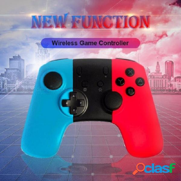 1 unids nuevo ns gamepad de conmutador inalámbrico para consola de nintendo switch y controlador de pc gamepad joystick multi