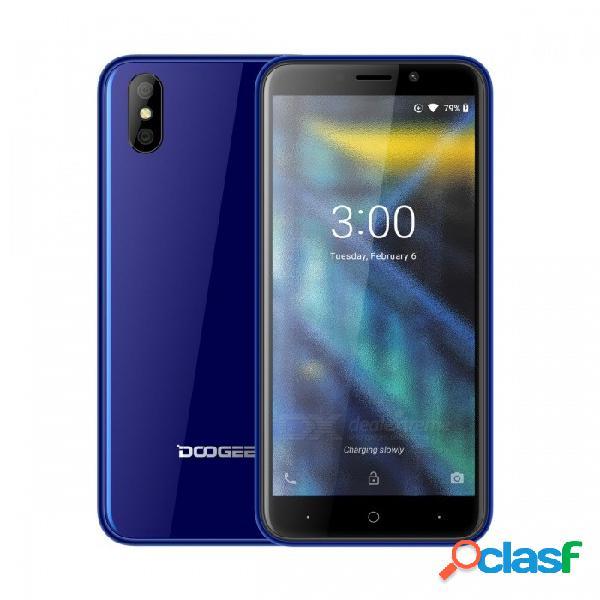 Doogee x50 5.0quot pantalla completa android go (basado en android 8.1) teléfono 3g con 1gb de ram, rom de 8gb