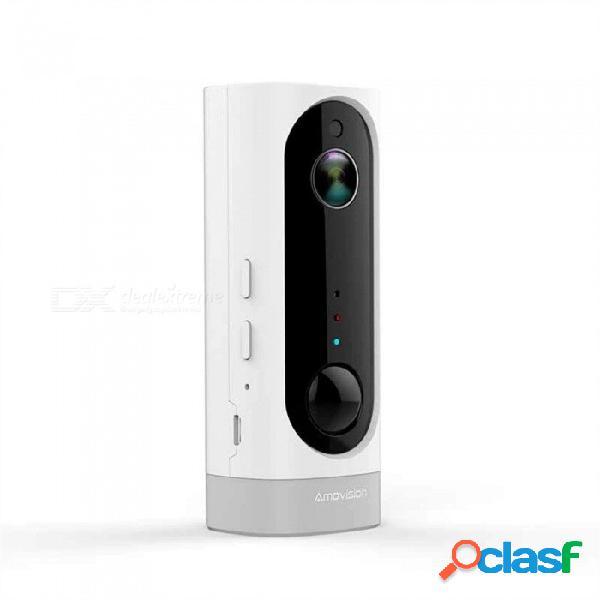 Hd 720p batería wifi cámara ip cámara sin cables batería recargable audio bidireccional cámara de red doméstica inalámbrica 1/4 / 750tvl / ntsc