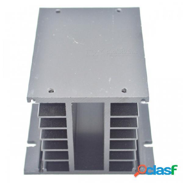 Disipador de calor de aluminio rxdz para la disipación de calor de relé de estado sólido trifásico ssr