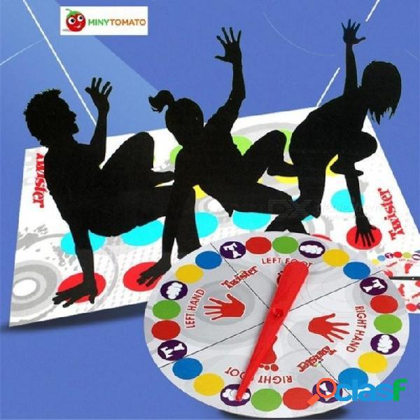 Diversión al aire libre deportes juguetes twister mueve juego play mat mat twisting cuerpo creativo interactivo juguetes educativos regalo para niños mat