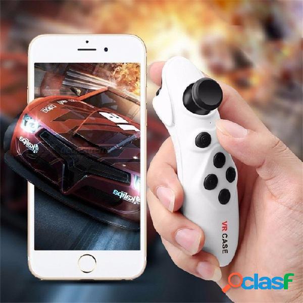 Gamepad inalámbrico de los controles remotos de la actualización del bluetooth vr para la almohadilla del juego del joystick android para las gafas 3d blancas