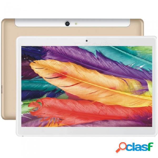 Tablet pc android binai g10max mtk helio x20 (mtk6797) 10.1 quot con 3 gb de ram, 32 gb de rom - dorado