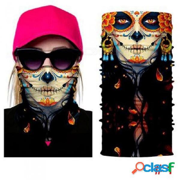 Halloween bufanda máscara festival motocicleta cara protector sol máscara pasamontañas fiesta máscaras suministros festivos máscara de la mascarada modelo 1