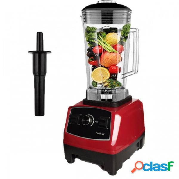 Alta calidad libre de bpa 3hp 2l mezclador comercial de alta potencia profesional licuadora licuadora mezclador procesador de alimentos exprimidor rojo
