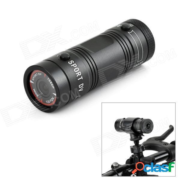F9 en forma de antorcha mini cámara hd impermeable para deportes al aire libre cámara de acción mini cámara de video dv