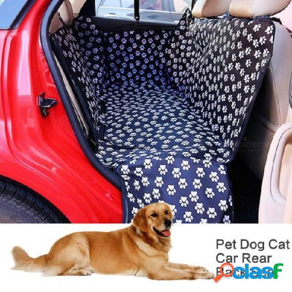 130 x 150 x 38 cm coche para mascotas portátil asiento trasero trasero cubierta del portador impermeable perro mascota estera manta manta cubierta
