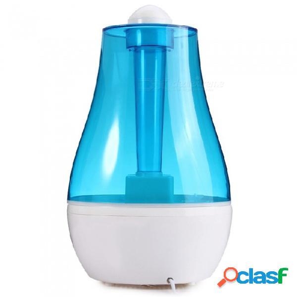 Diseño elegante 25w práctico 2.5l humidificador ultrasónico de aire, nebulizador fabricante de niebla de difusor de aroma para el hogar, oficina