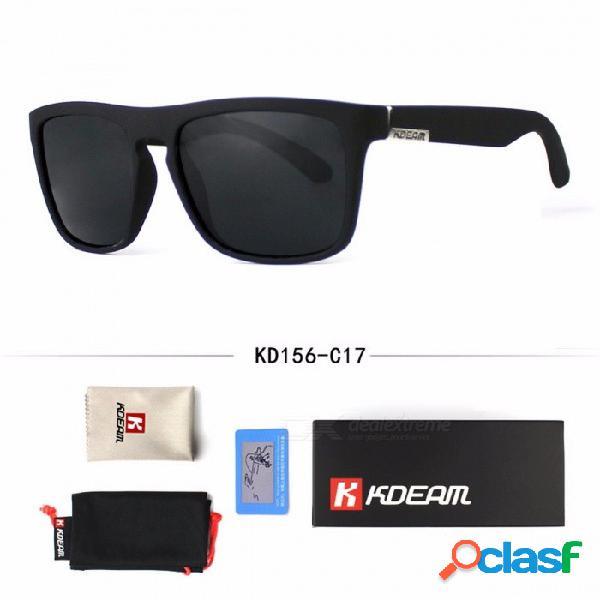 Gafas de sol de moda de los hombres polarizadas con estilo deportes al aire libre de alta calidad diseño clásico fresco gafas de sol