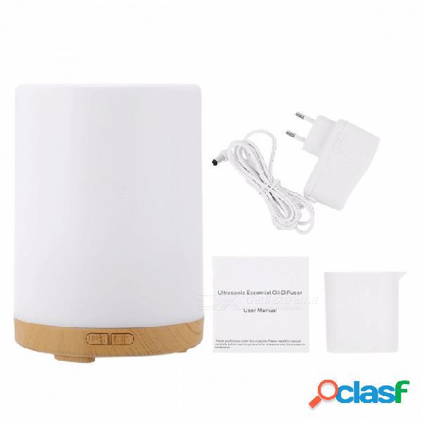 Homgeek 200 ml aroma ultrasónico difusor de aceite esencial humidificador de aire fabricante de la niebla w / 7 colores de luz led para la oficina en casa enchufe de la ue