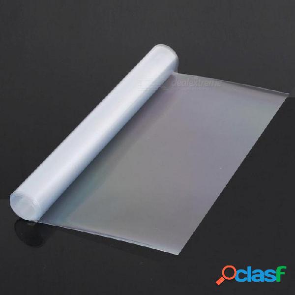 Superficie lisa película faro adhesivo 30 cm x 120 cm tamaño tint vinilo coche color transparente fácil remoción para sin descanso 30 * 120 cm