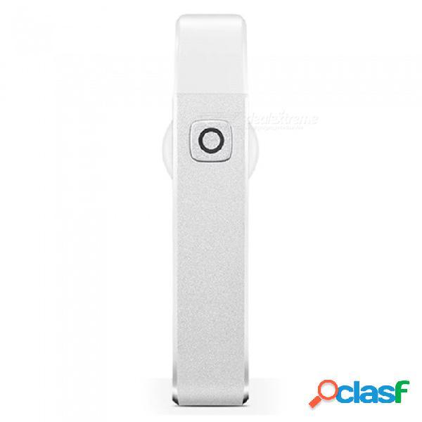 Meizu bh01 auriculares inalámbricos con bluetooth, sonido estéreo de alta fidelidad, auriculares estéreo de alta fidelidad con micrófono y micrófono para manos libres - blanco