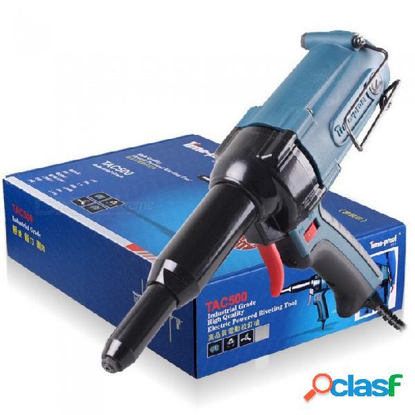 Herramienta remachadora remachadora eléctrica original a prueba de tiempo tac500 remachadora, versión estándar de la herramienta de energía eléctrica de 220v 400w