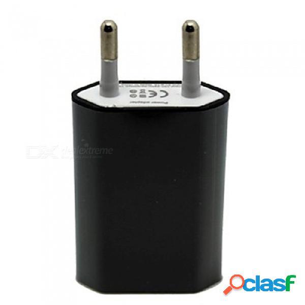 Szkinston ac 100-240v alimentación puertos usb inteligentes diamante ue enchufe cargadores de ca de carga rápida para todos los teléfonos móviles, tabletas - negro