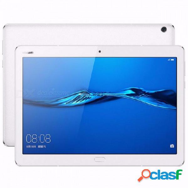 """10.1"""" mediapad huawei original m3 lite 10 bah-al00 4g tableta de llamada telefónica con snapdragon 435 octa-core 3gb 32gb emui 5.1 gps 3gb 32gb blanco / agregue funda de cuero de la pu"""