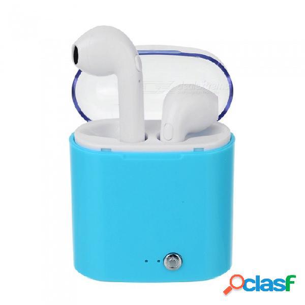 I7s tws mini auriculares bluetooth inalámbricos auriculares estéreo auriculares para android, iphone