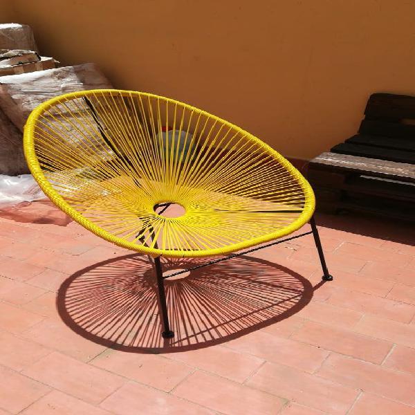 2 sillas acapulco color lima