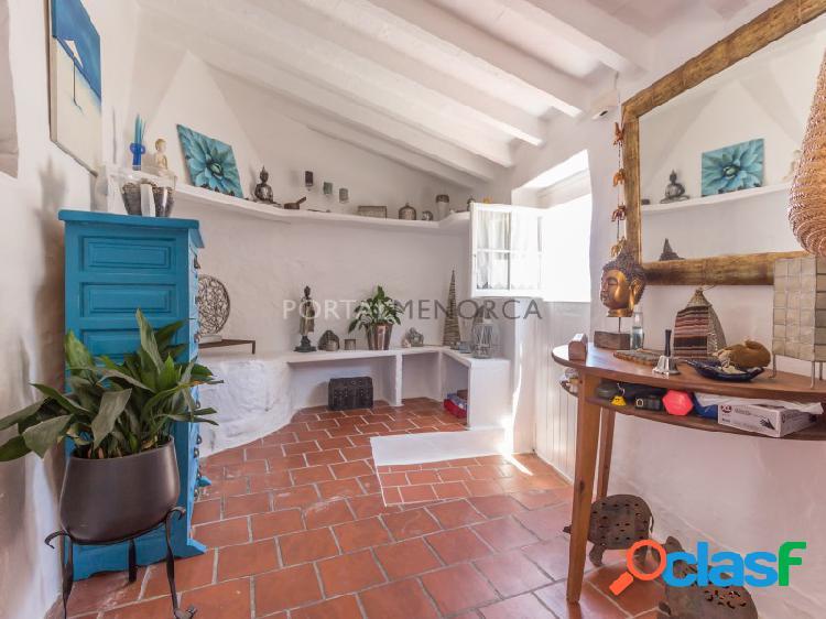 Casa tradicional en venta en ses barraques, sant lluis. menorca
