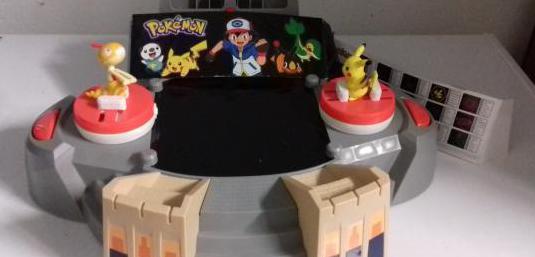 Arena de batalla de pokemon