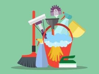 Chica de limpieza para sábados por la mañana.